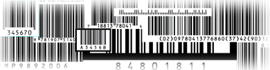 hundreds of bar code types