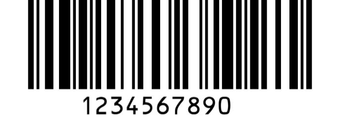 Code 128 barcode format example by ga-international.com