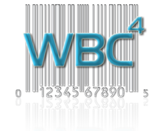 WBC4 Logo - WBC4 is a fully-featured bar code creator. It produces UPC codes, EAN-13, Code 39, ISBN, ISSN and many other barcode types.